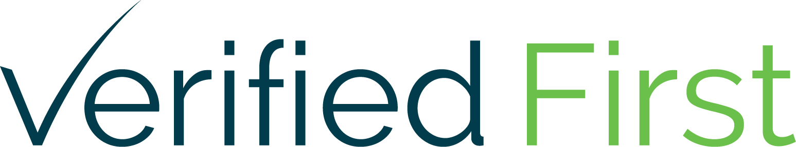 Verified First logo